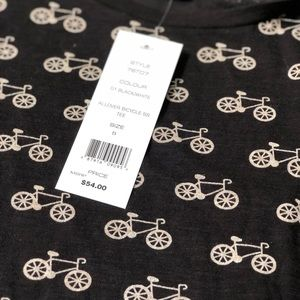 French Connection Tops - French connection bicycle tee